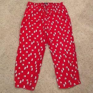 Gap pajama bottoms size medium